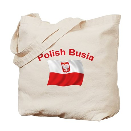 Polish Busia Tote Bag