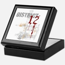 district 12 grunge Keepsake Box