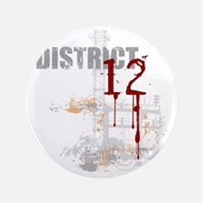 "district 12 grunge 3.5"" Button"