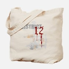district 12 grunge Tote Bag