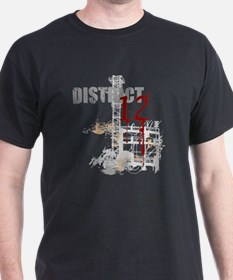 district 12 grunge T-Shirt