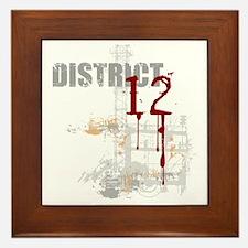 district 12 grunge Framed Tile