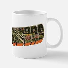 Greetings from Cranford_white type Mug