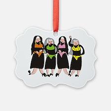 Nun wearing bikinis 4 Ornament