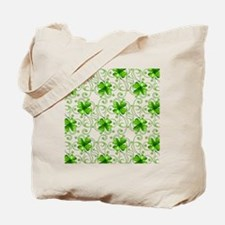 Happy Holiday St. Pat Shamrocks Tote Bag