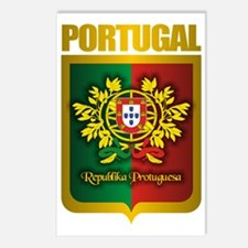 Portuguese Gold Postcards (Package of 8)