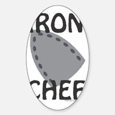 IronChef Sticker (Oval)