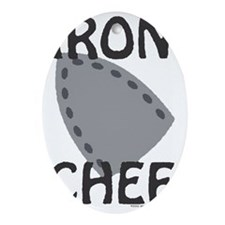 IronChef Oval Ornament