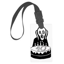 Scream40 Luggage Tag