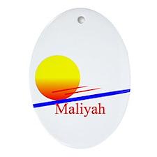 Maliyah Oval Ornament