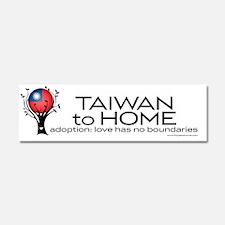 TAIWAN_bumpersticker Car Magnet 10 x 3