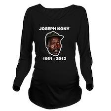 Kony 2012 Obituary Long Sleeve Maternity T-Shirt