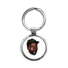 Kony 2012 Obituary Round Keychain