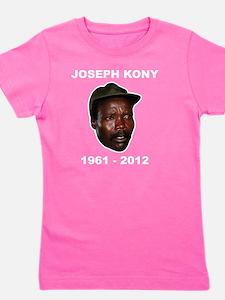 Kony 2012 Obituary Girl's Tee