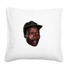 Kony 2012 Obituary Square Canvas Pillow
