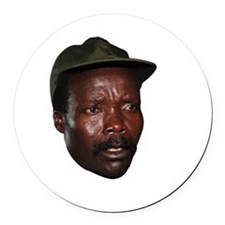 Kony 2012 Obituary Round Car Magnet