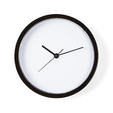 chinese-sharpei white Wall Clock