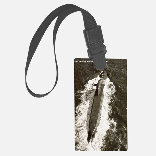 phenry ssn large framed print Luggage Tag