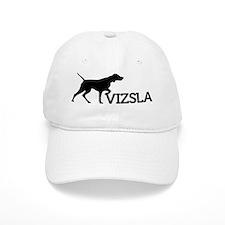 6x6_silhouette-VIZSLA_black_noBG Baseball Cap