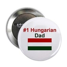 """#1 Hungarian Dad 2.25"""" Button"""