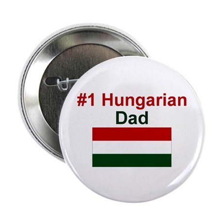 "#1 Hungarian Dad 2.25"" Button"