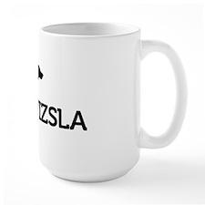 8x10_silhouette-VIZSLA_black_noBG Mug