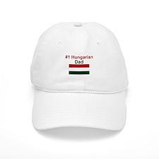 #1 Hungarian Dad Baseball Cap