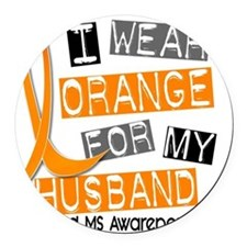 D HUSBAND Round Car Magnet