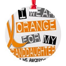 D GRANDDAUGHTER Ornament