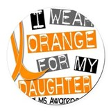 Multiple sclerosis Round Car Magnets