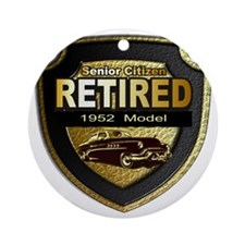 1952 Retired Model 12x12 Round Ornament