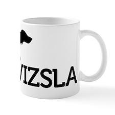 10x10-top_silhouette-VIZSLA_black_noBG Small Mug