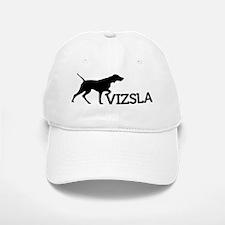 10x10-top_silhouette-VIZSLA_black_noBG Baseball Baseball Cap