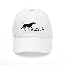 4x5_silhouette-VIZSLA_black_noBG Baseball Cap