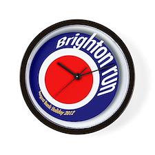 Brighton Bank Holiday 2012 Wall Clock