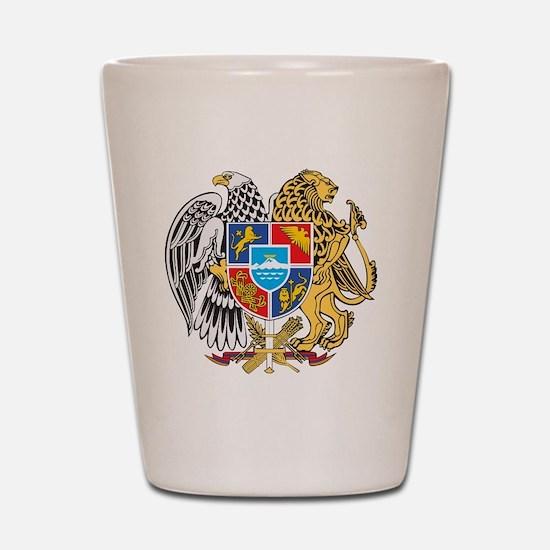 armenia_coa_n16 Shot Glass