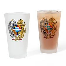 armenia_coa_n16 Drinking Glass