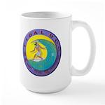 Tidal Dog Large Mug