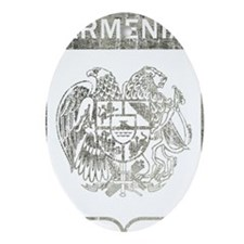 armenia8Bk Oval Ornament