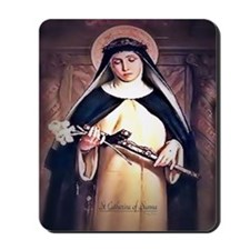 St Catherine of Siena Mousepad