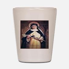 St Catherine of Siena Shot Glass