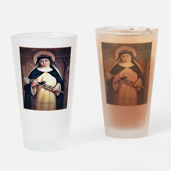 St Catherine of Siena Drinking Glass