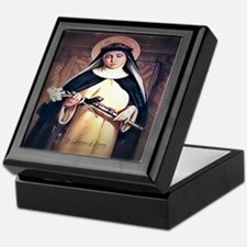 St Catherine of Siena Keepsake Box
