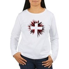 WHITE CROSS Long Sleeve T-Shirt