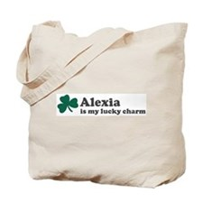 Alexia is my lucky charm Tote Bag
