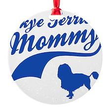 skye terrier-mommy Ornament