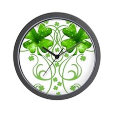 IrishShKeepsakeCTR Wall Clock