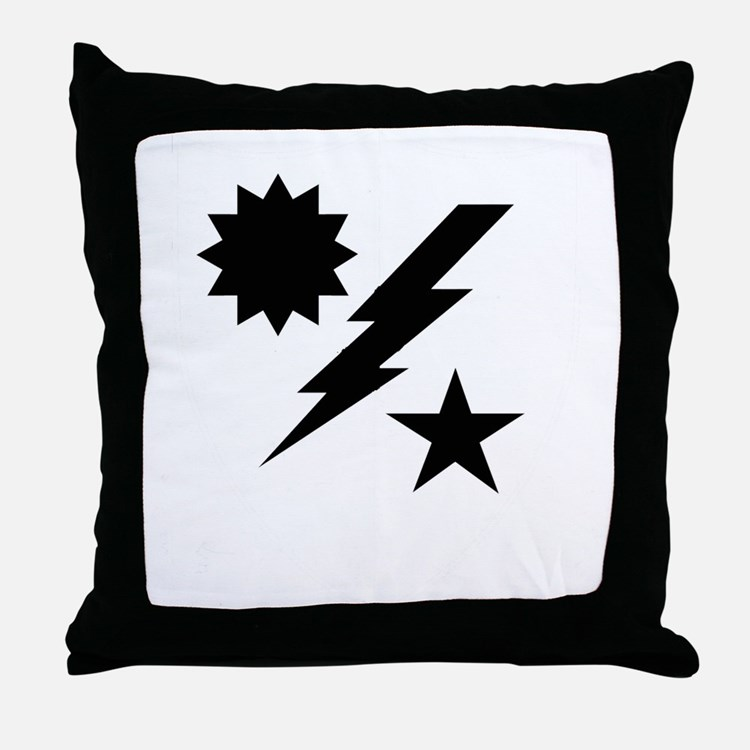 Merrills Marauders Throw Pillow