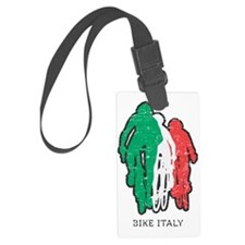 bike italy white Luggage Tag