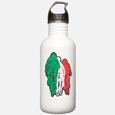 bike italy dark Water Bottle